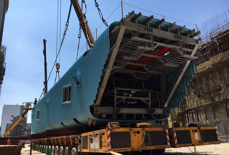 Linkou 250 tons conveyor belt transportation and hoisting