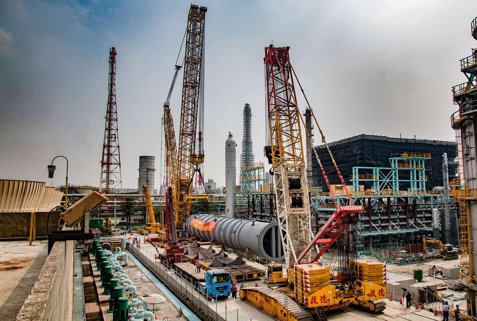 20160220 Dalingpu reactor lifting