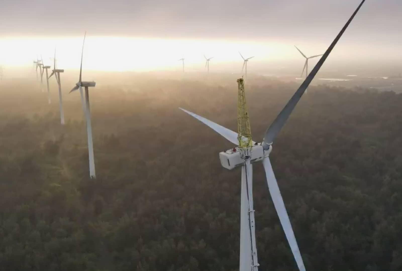 Mailiao Wind Turbine Repair - Vestas